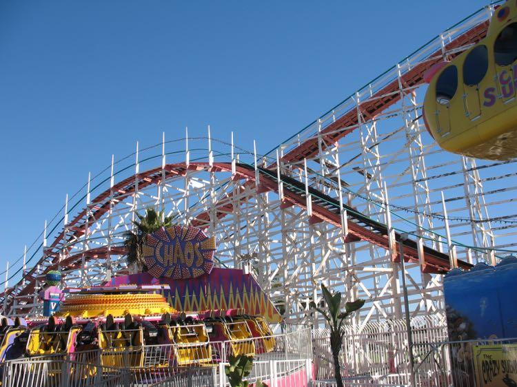 Belmont Park Mission Beach San Diego Ca Theme Park